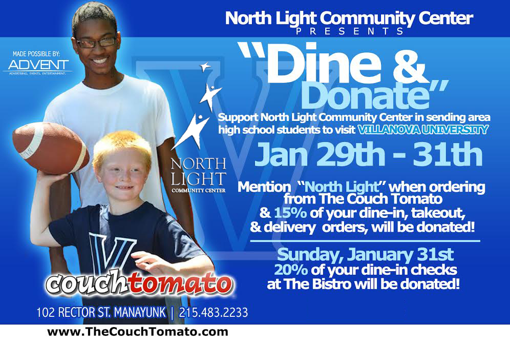 Dine and Donate - North Light